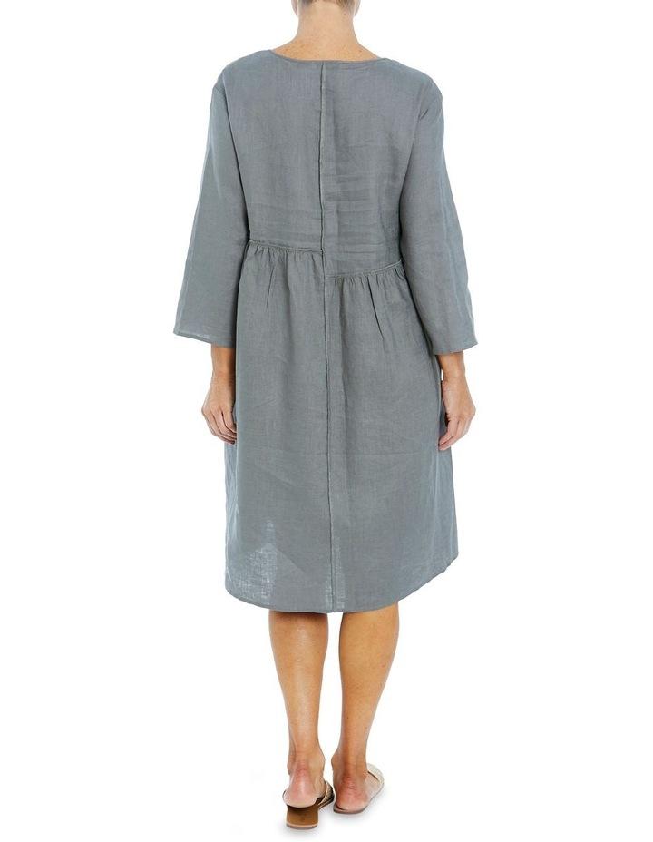 Seam Detail Dress Khaki image 2