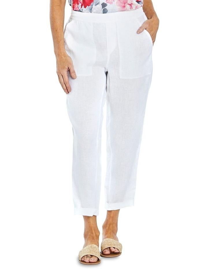 Core Linen Pant White image 1