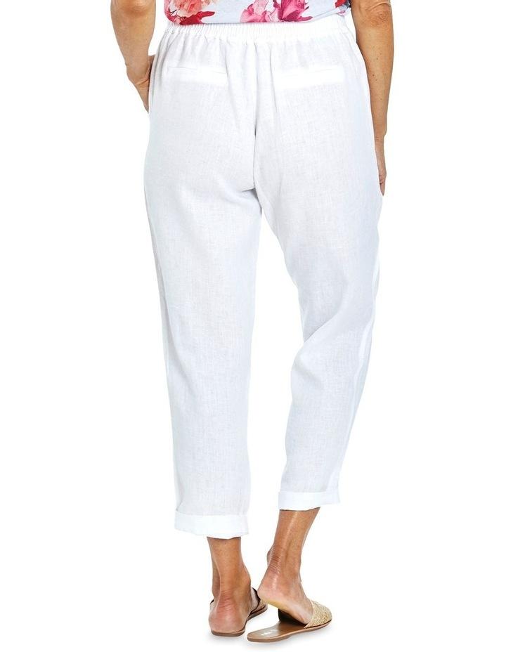 Core Linen Pant White image 2