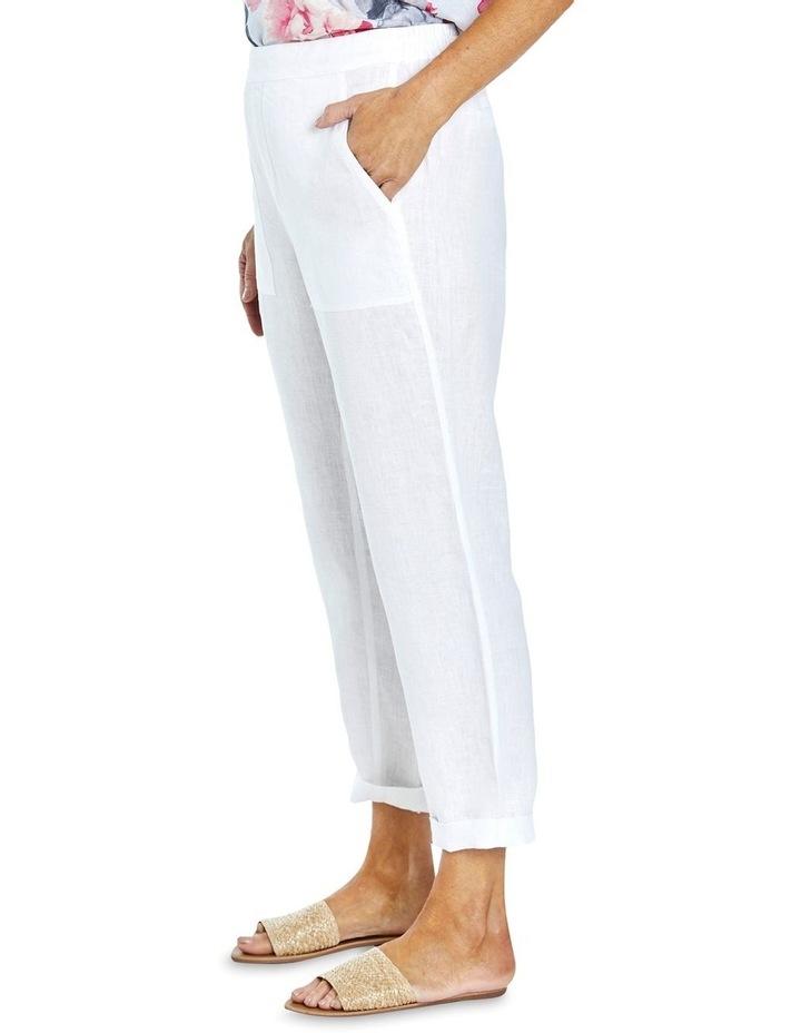 Core Linen Pant White image 3