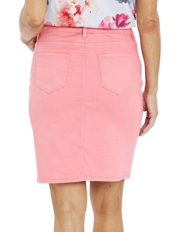 Denim Skirt Coral image 2