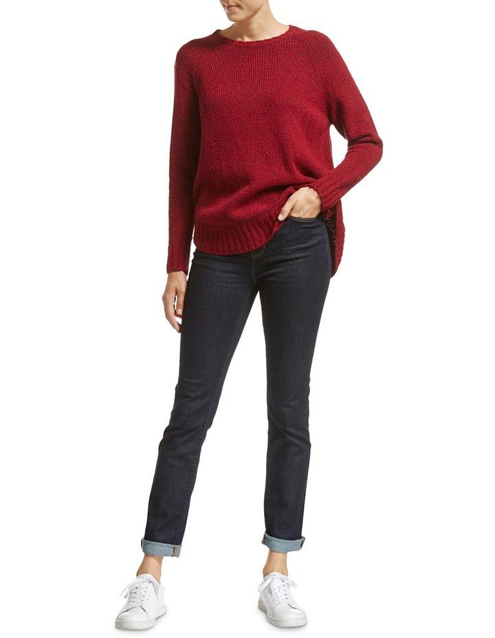 Liza Curved Hem Knit image 2