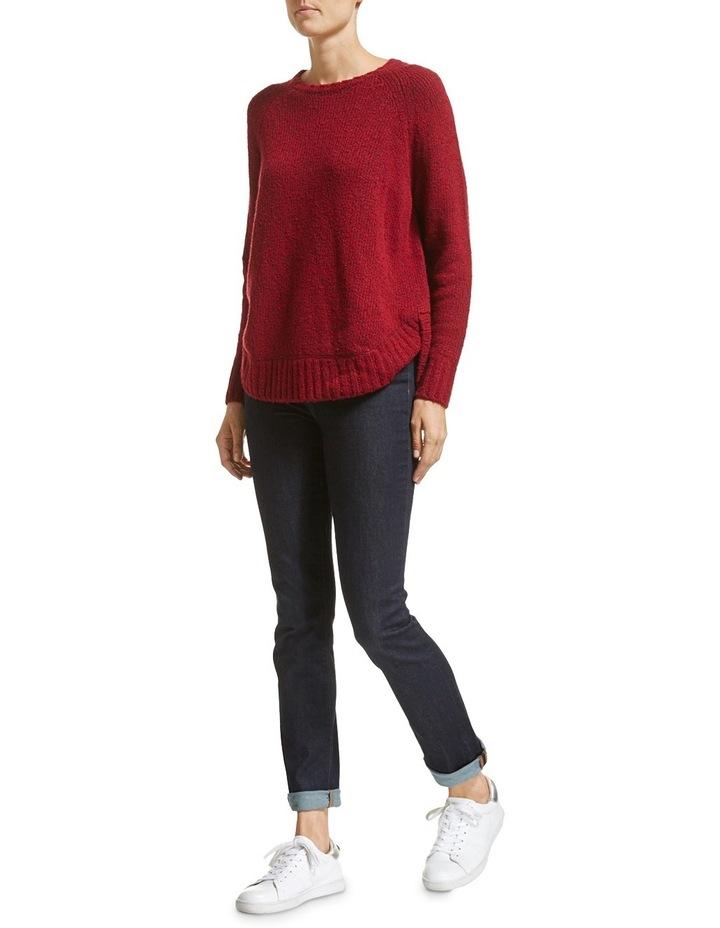 Liza Curved Hem Knit image 3