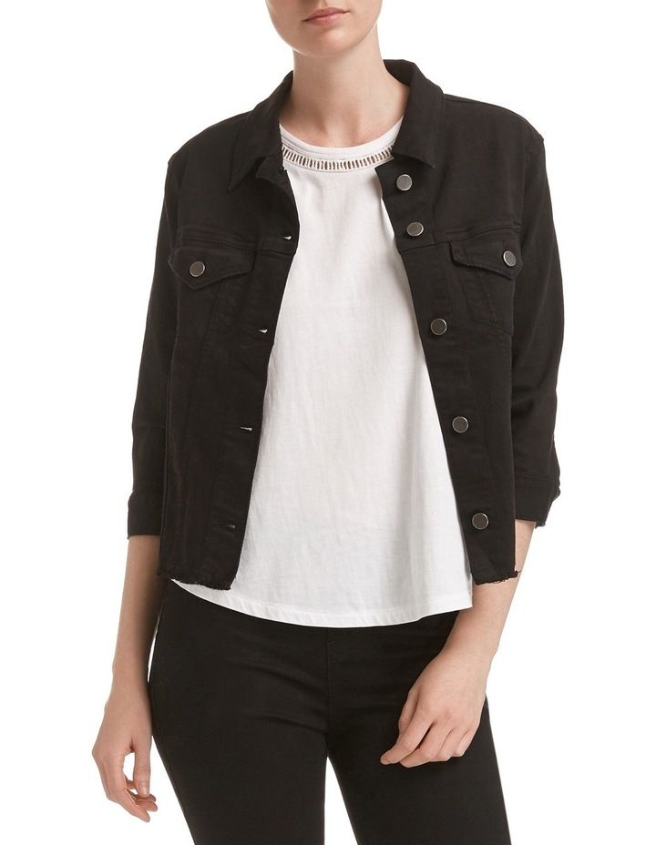 Betty Crop Denim Jacket image 1