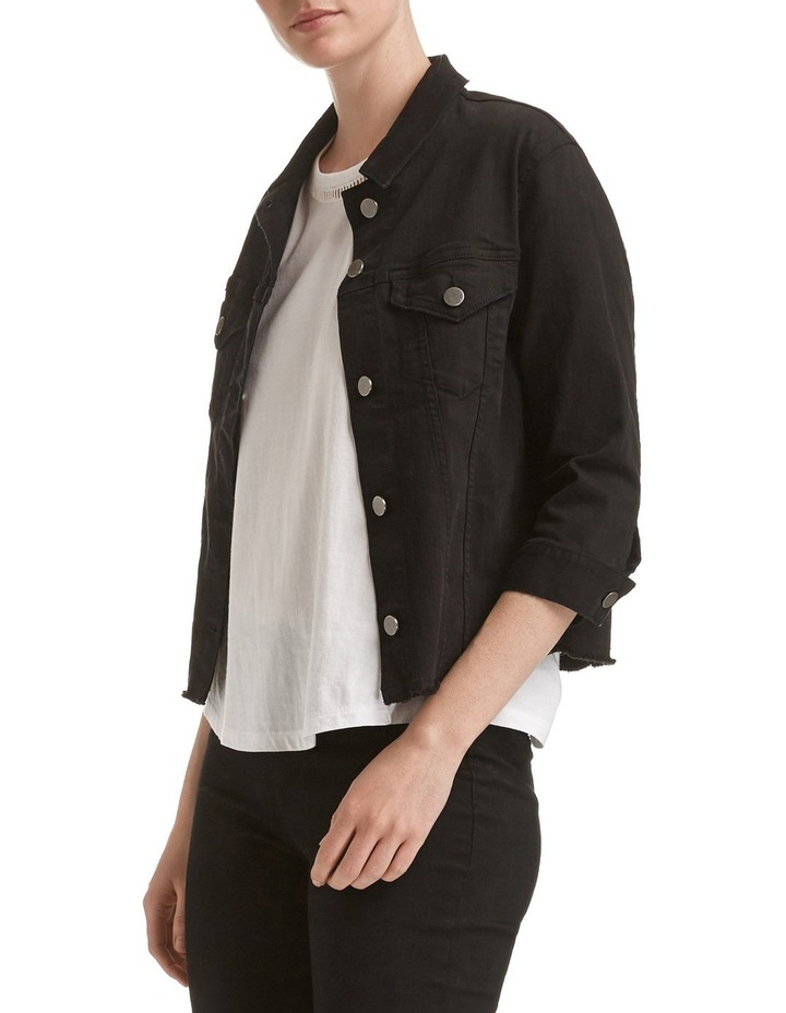 Betty Crop Denim Jacket image 3