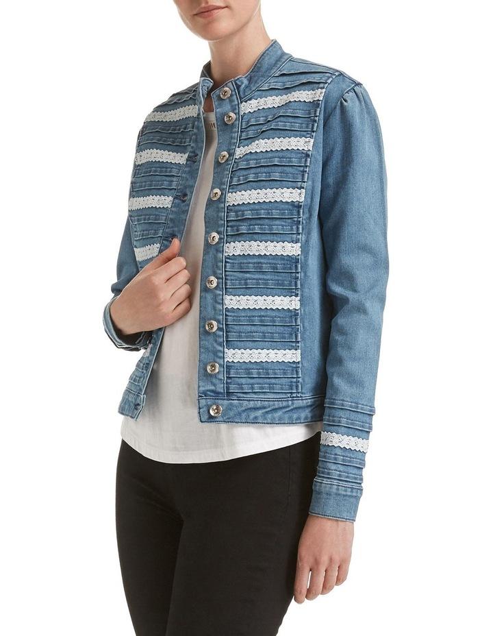 Hattie Lace Denim Jacket image 2