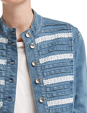 JAG - Hattie Lace Denim Jacket