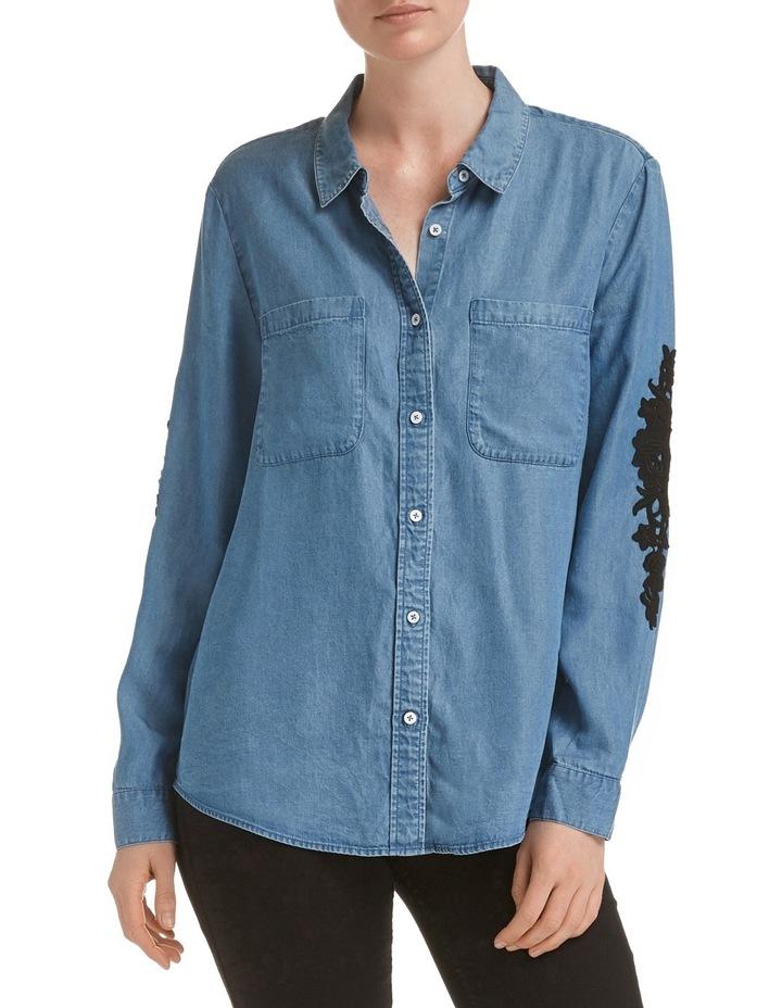 Marilyn Lace Trim Shirt image 1