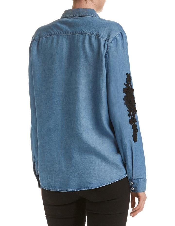 Marilyn Lace Trim Shirt image 2