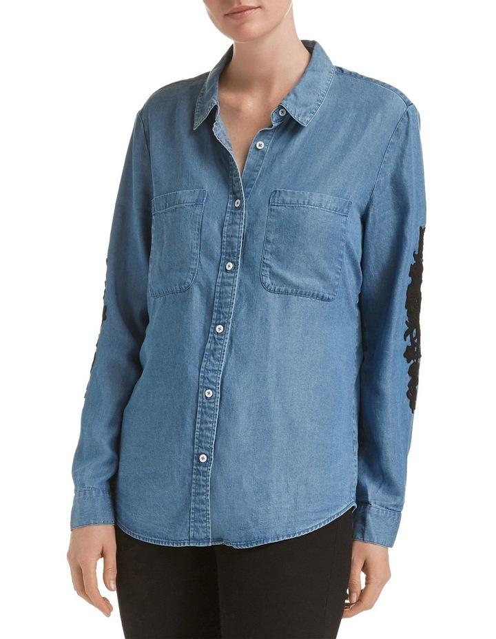 Marilyn Lace Trim Shirt image 3