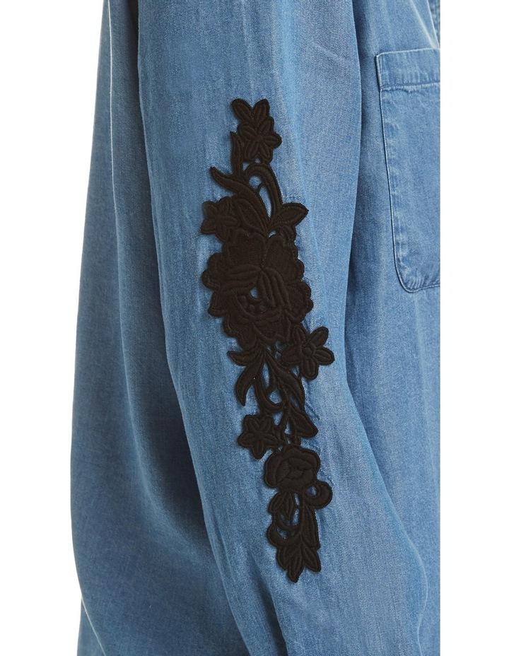 Marilyn Lace Trim Shirt image 4