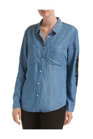 JAG - Marilyn Lace Trim Shirt