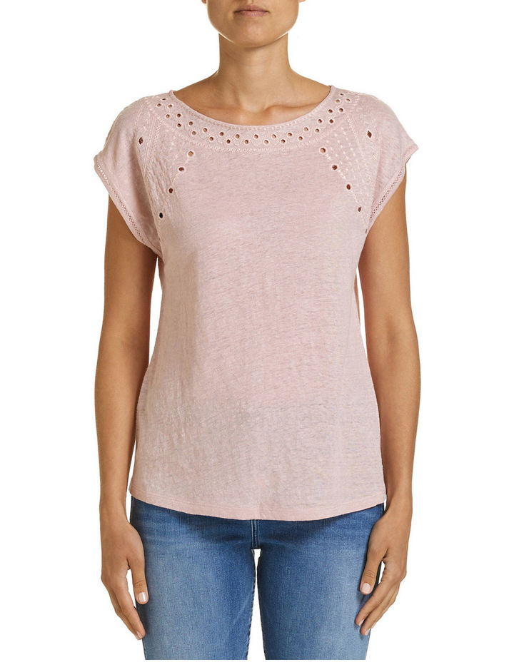 Francine Embroidered Tee image 1