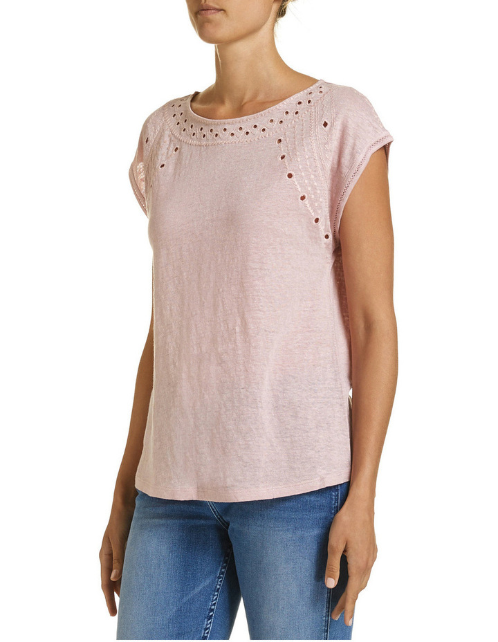 Francine Embroidered Tee image 2