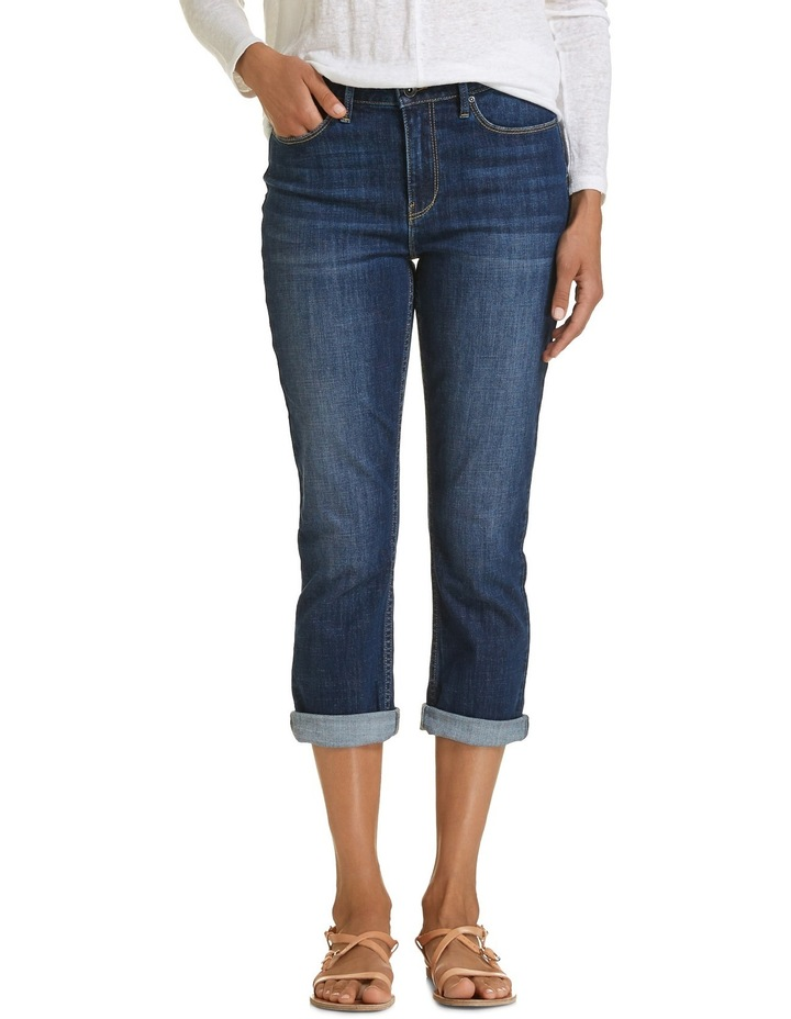 Chloe High Rise Crop Jeans image 1