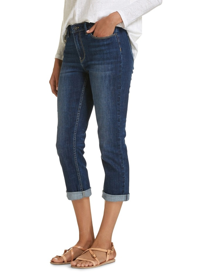 Chloe High Rise Crop Jeans image 2