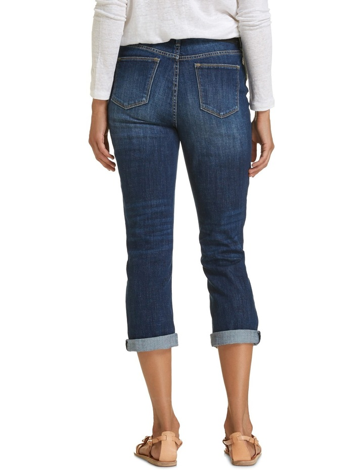 Chloe High Rise Crop Jeans image 3