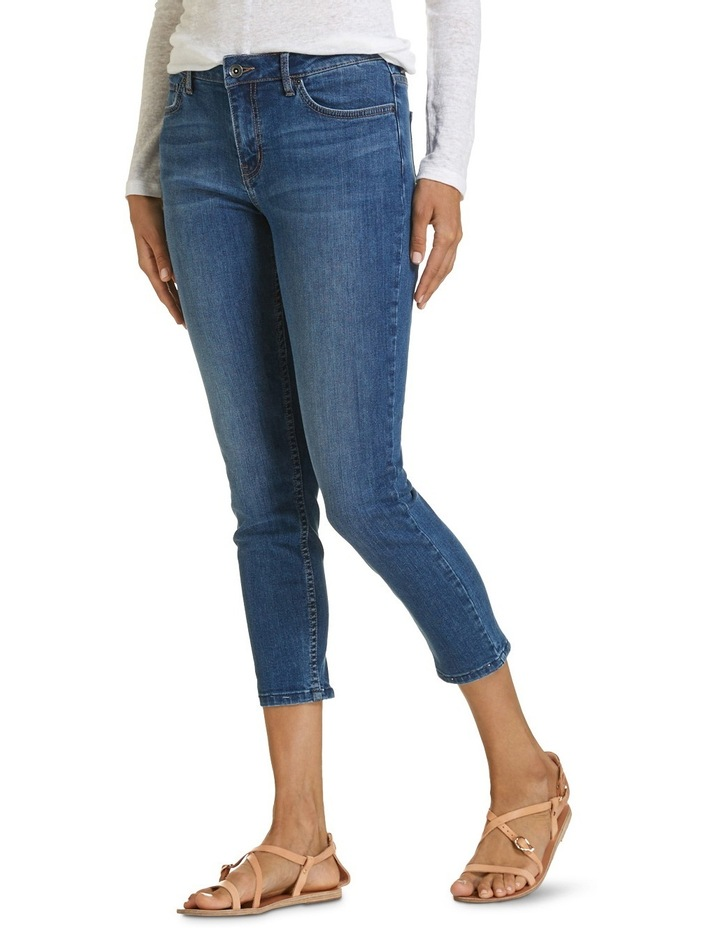 Rosie High-Rise Skinny Crop Jean image 2