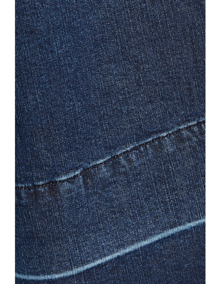 Denim Crop Culotte image 4