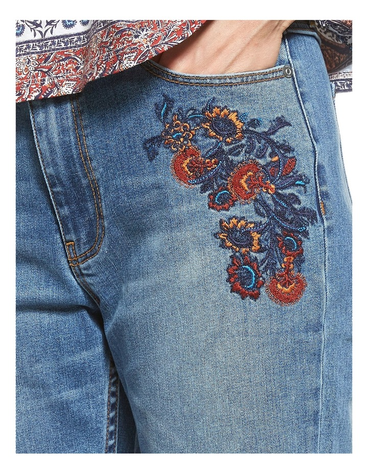 Sophie Embroided Authentic Jean image 4