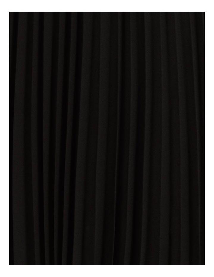 Sunburst Anne Black Pleated Maxi Skirt image 5