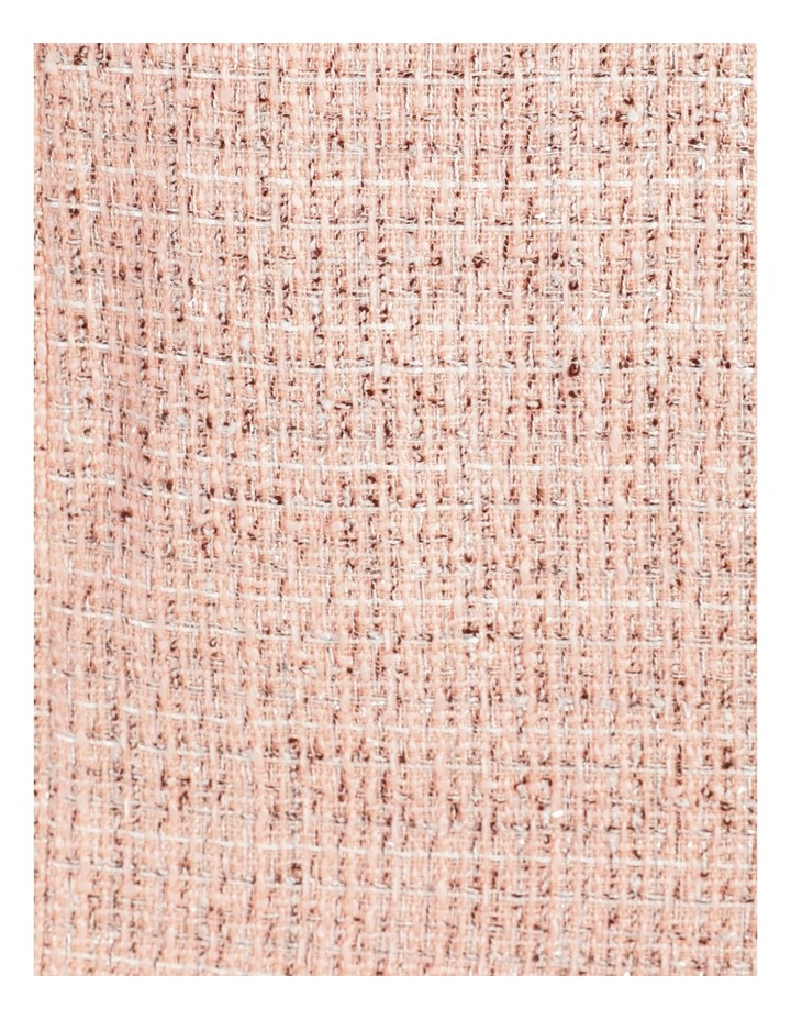 Tweed Ruffle Hem Sheath Dress image 7