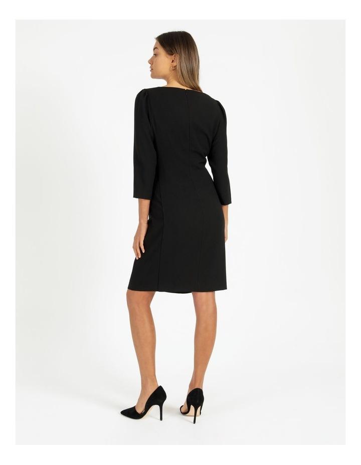 Ruched Side Sheath Dress image 6