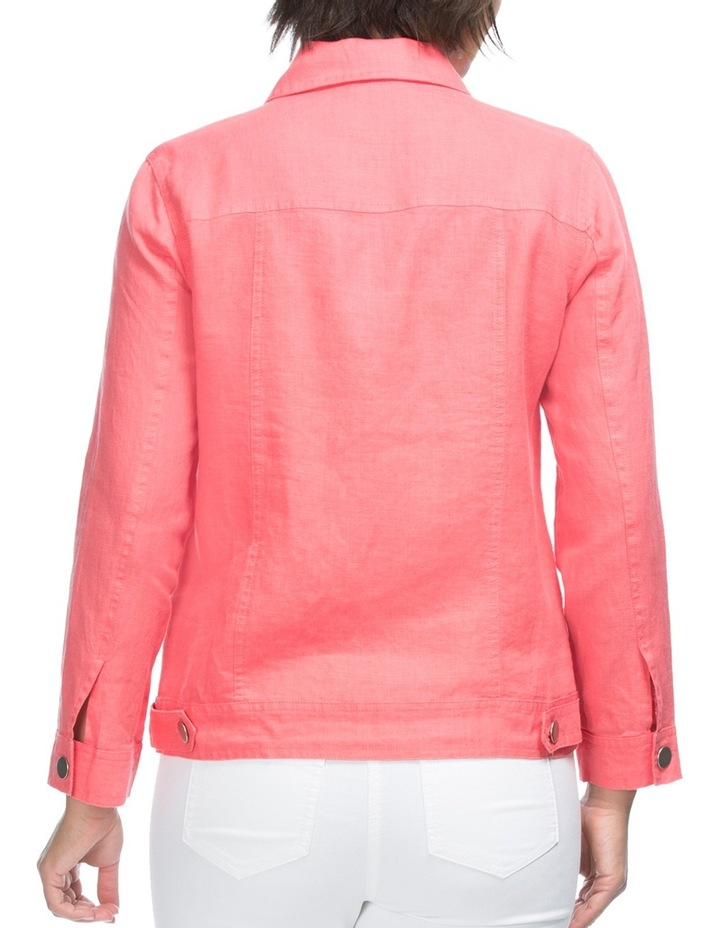 Long Sleeve Linen Jacket image 2