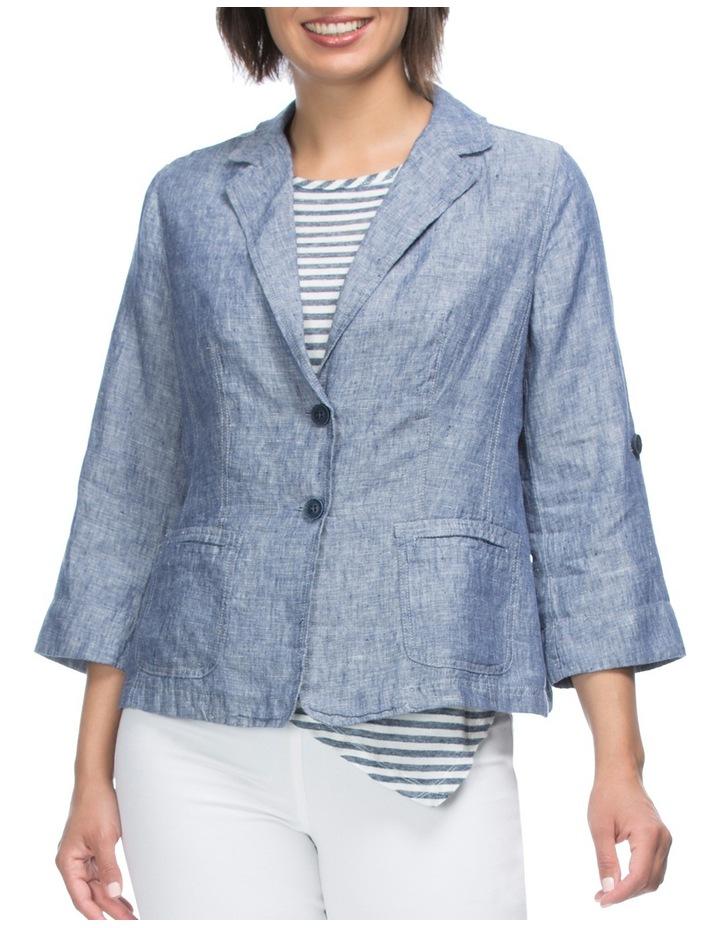 Tabe Sleeve Linen Jacket image 1