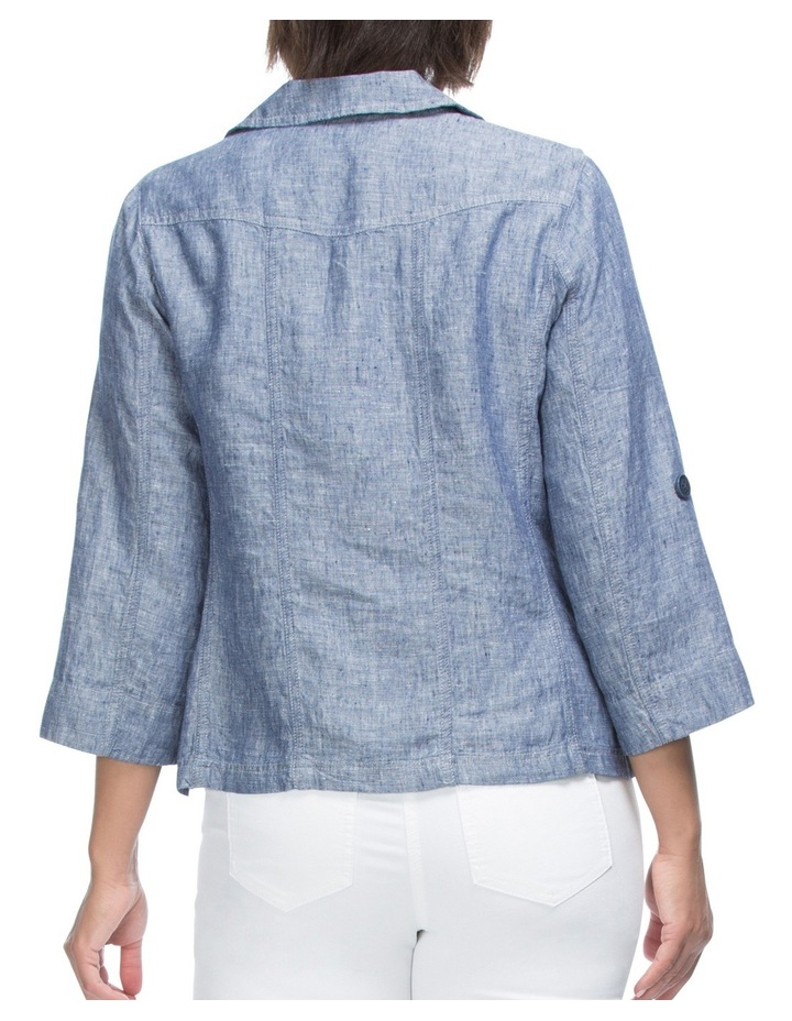 Tabe Sleeve Linen Jacket image 2