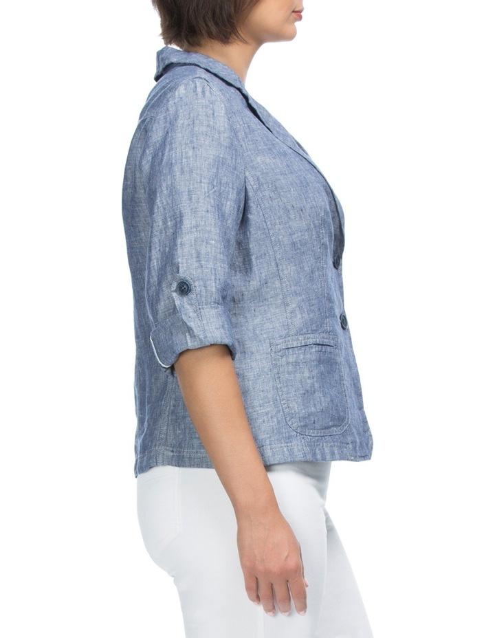 Tabe Sleeve Linen Jacket image 3