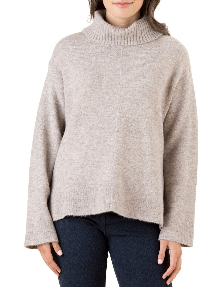 Roll Neck Marled Knit Jumper image 1