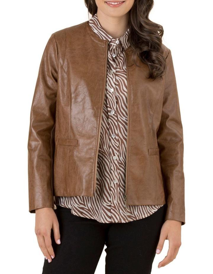 Faux Leather Jacket image 1