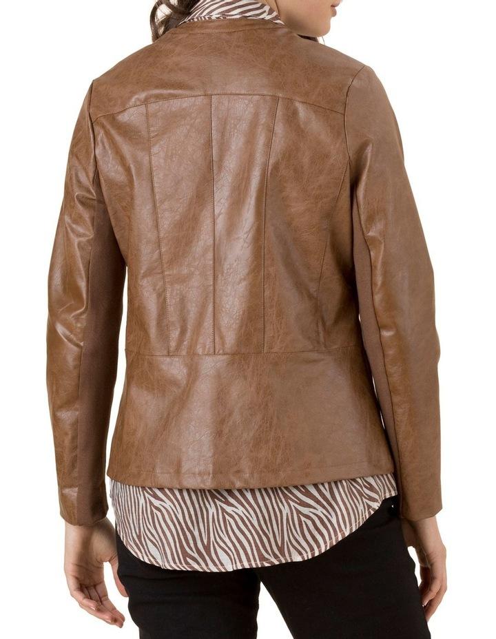 Faux Leather Jacket image 2