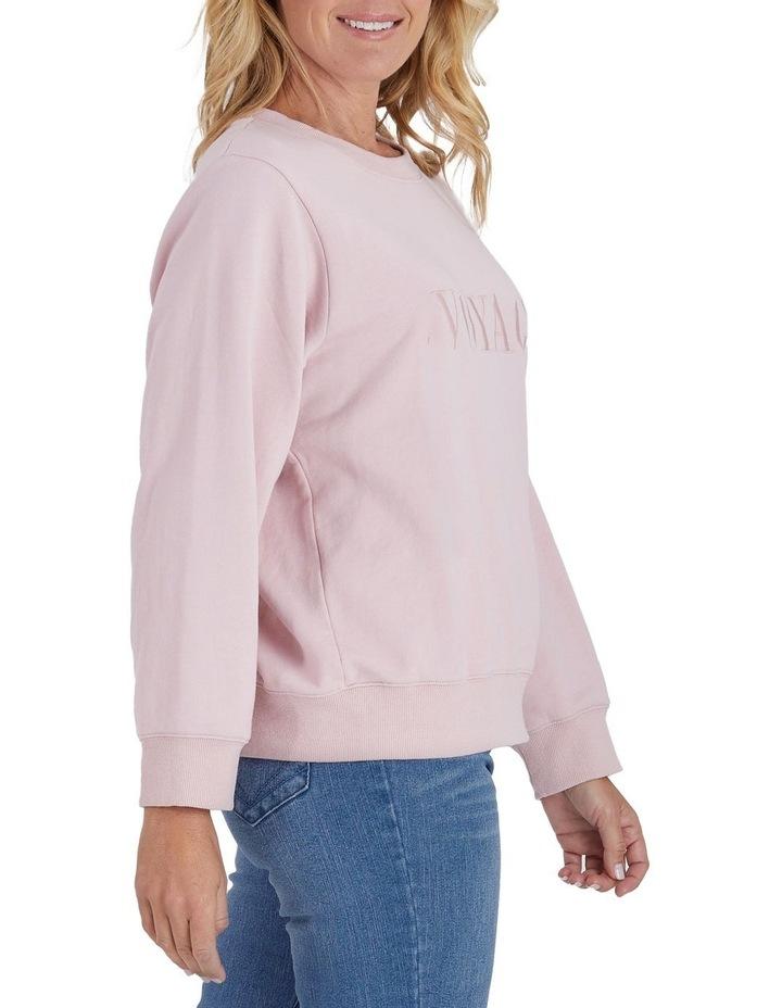 Voyage Embroidered Long Sleeve Sweatshirt image 2