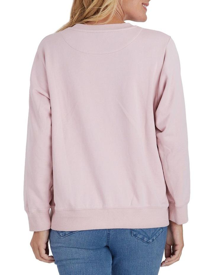 Voyage Embroidered Long Sleeve Sweatshirt image 3