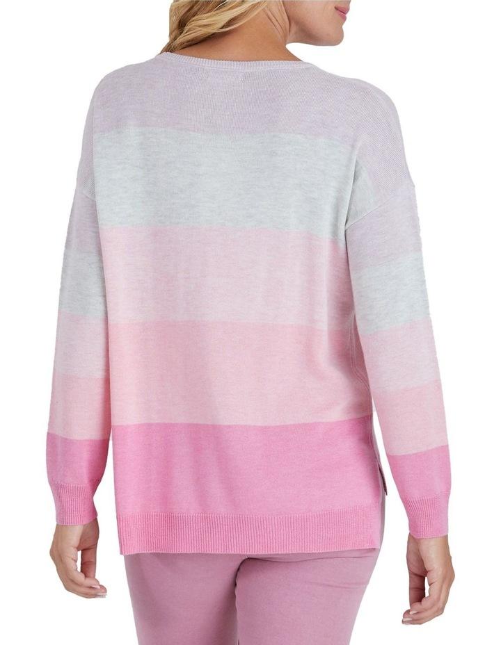 Colour Blocked Long Sleeve Knit Jumper image 3