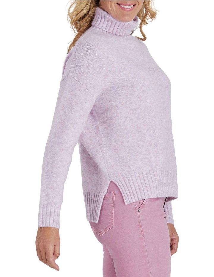 Speckle Knit Roll Neck Jumper image 2