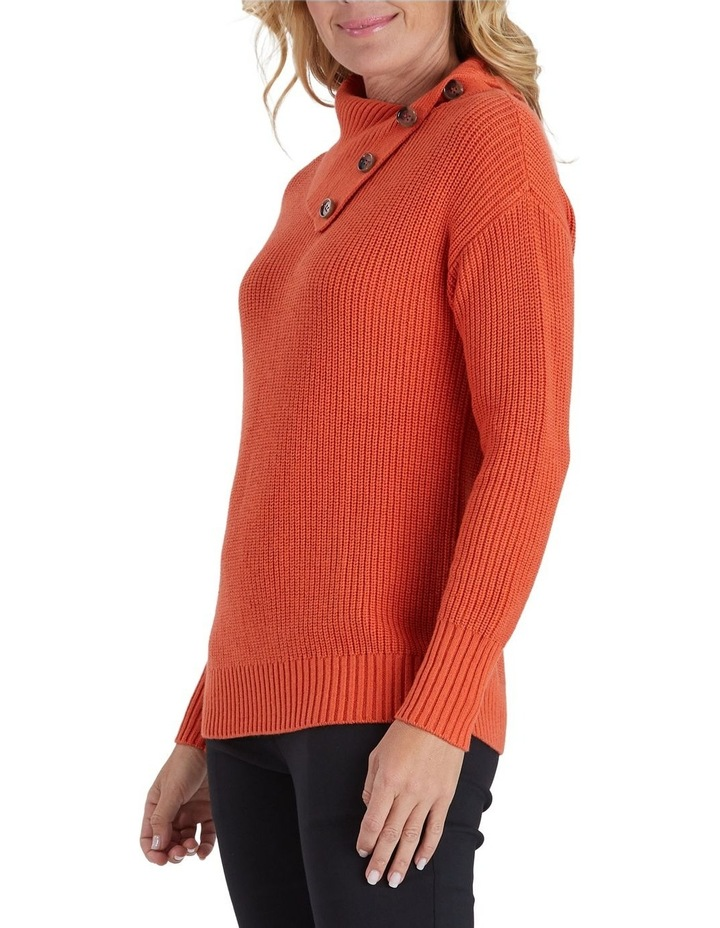 Button Detail Long Sleeve Knit Jumper image 2