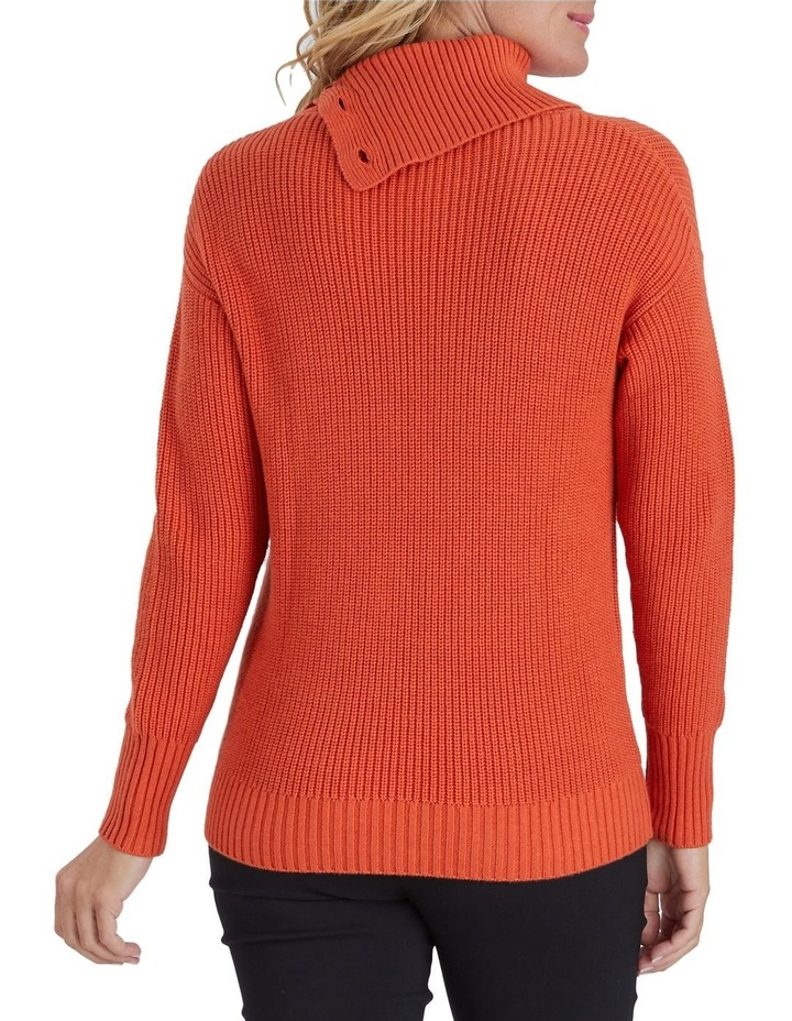 Button Detail Long Sleeve Knit Jumper image 3