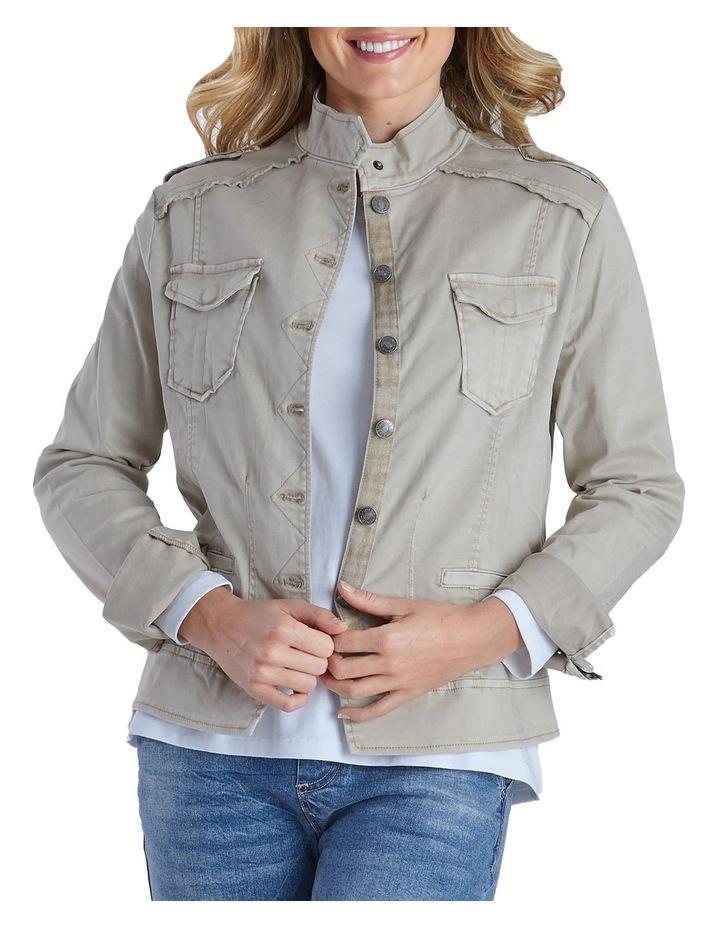 Military Denim Jacket image 1