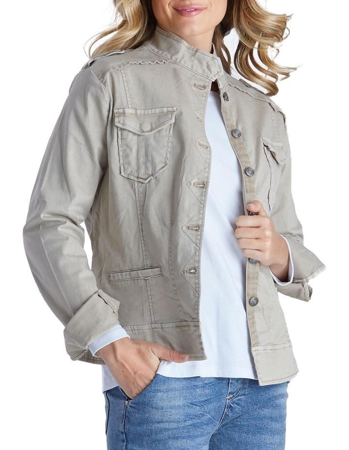 Military Denim Jacket image 2
