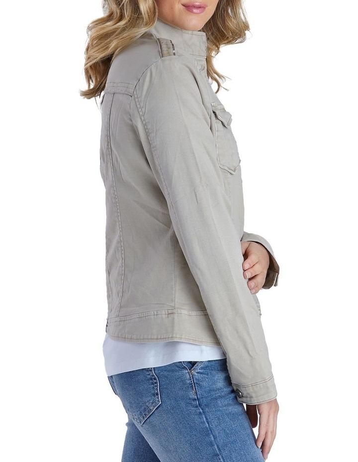 Military Denim Jacket image 3