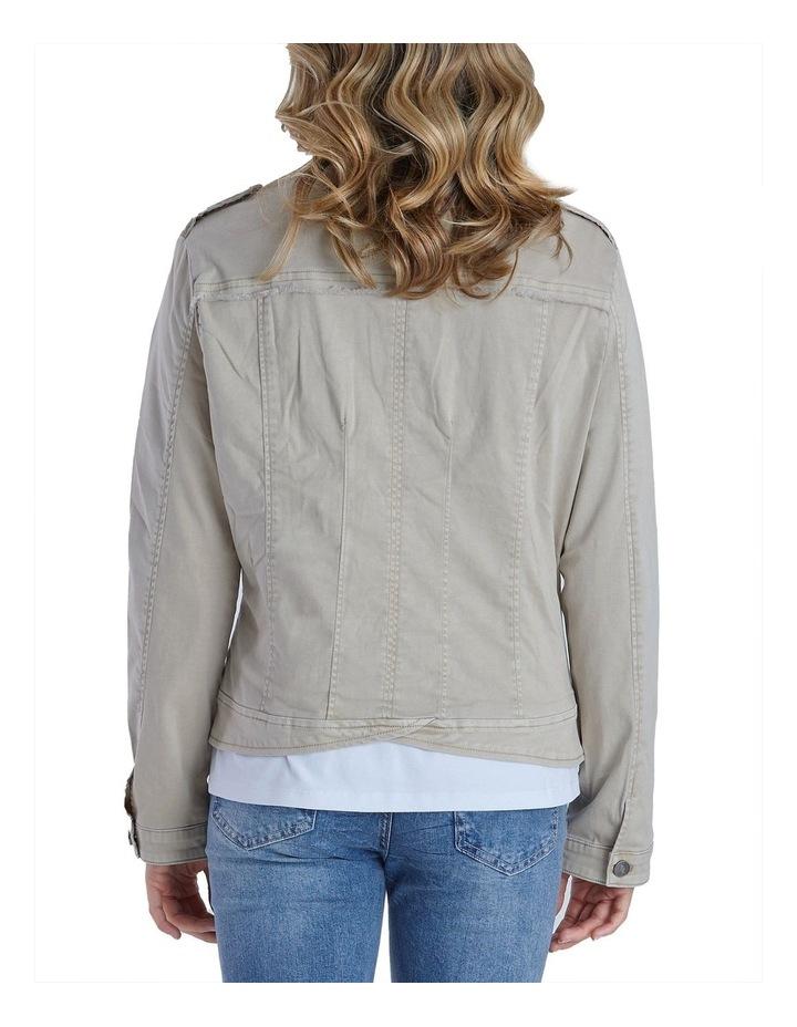 Military Denim Jacket image 4