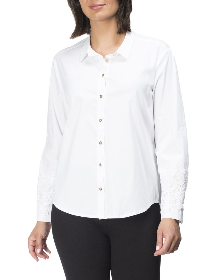 Lace Trim Shirt image 1