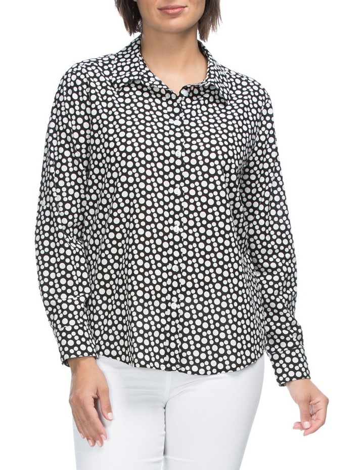 Long Sleeve Spot Print Shirt image 1
