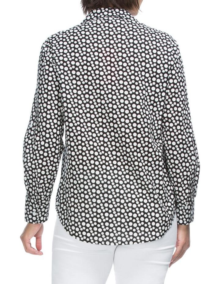 Long Sleeve Spot Print Shirt image 2