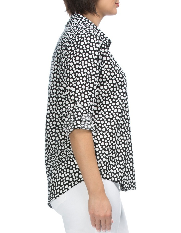 Long Sleeve Spot Print Shirt image 3