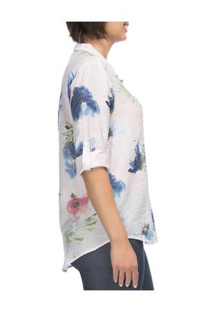 Gordon Smith - Long Sleeve Floral Print Shirt