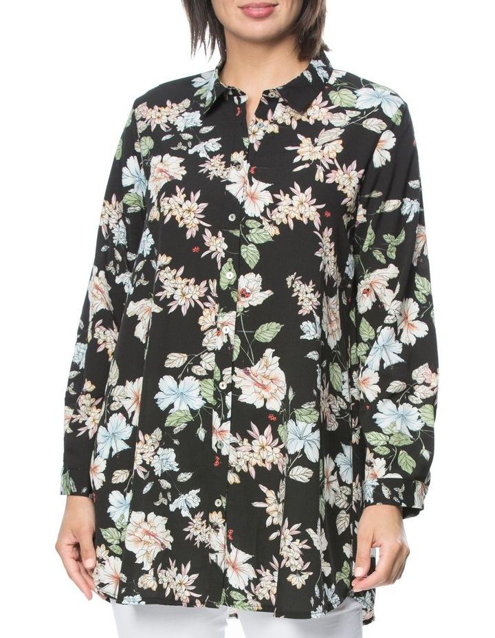 Floral Long Sleeve Shirt image 1